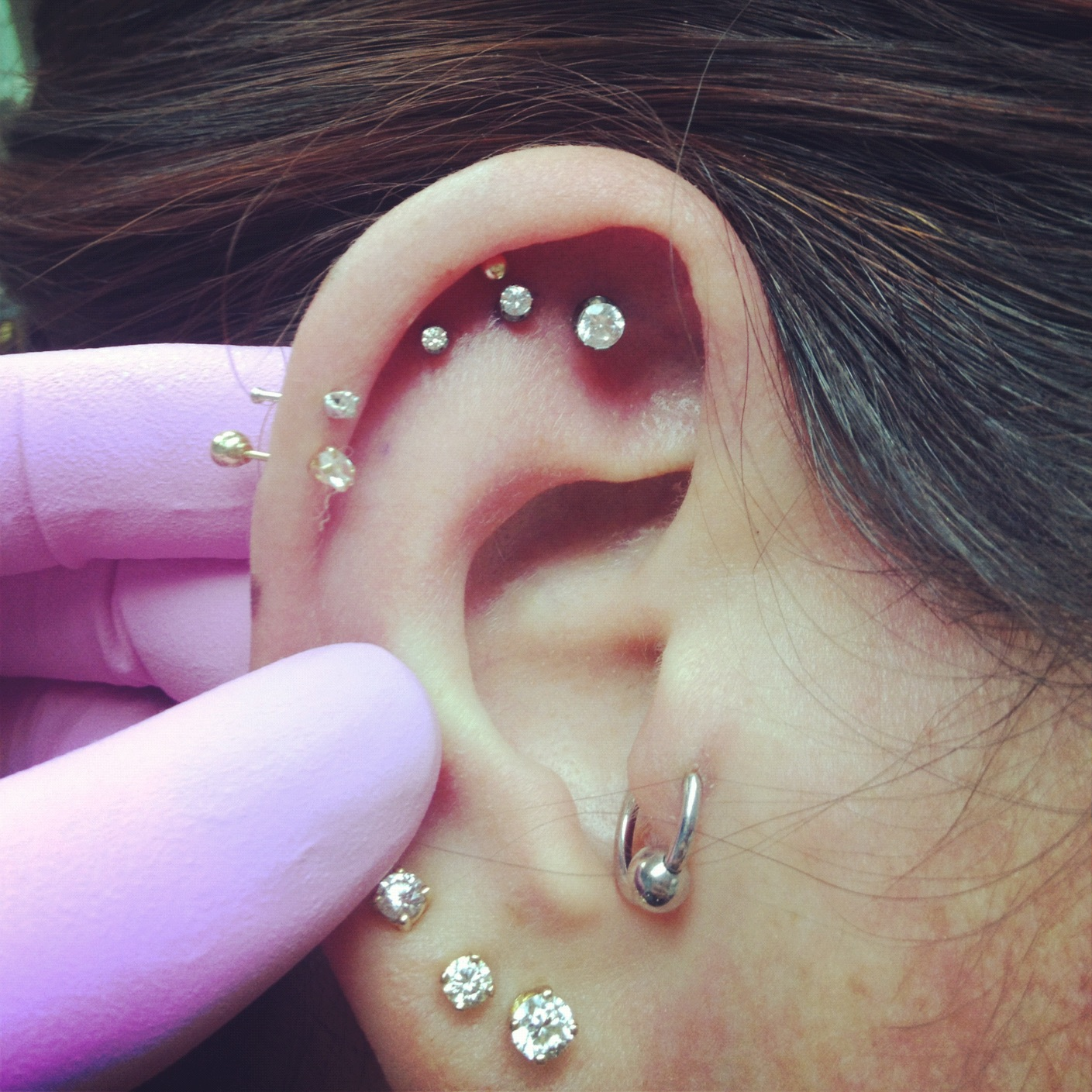 Triple Cartilage Piercings $40 off! :: What's New